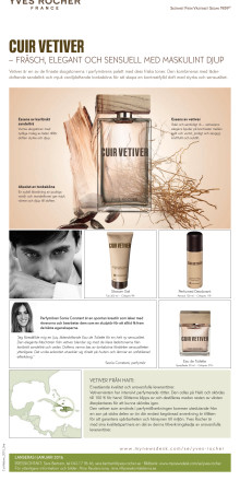 Cuir Vetiver produktinformation