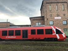 Inlandsbanans nya tåg på plats – välkommen på visning