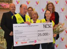 NCSC och Väla Centrum ger pris till Missing People