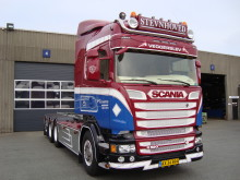 To Scania R 520 med chauffør coaching til Stevnhoved