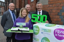 Connecting Cheshire races ahead to major superfast broadband milestone for local communities