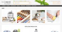Köksredskap från kända varumärken, nu i ny responsiv design