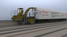 Railcare röjer rälsen åt vintertågen