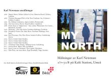 Folder med presentation av Karl Newman
