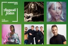 En ny dimension av musikunderhållning på  Augustifesten 2018!