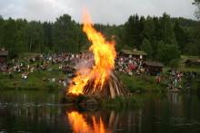 Sankthansaften på Maihaugen