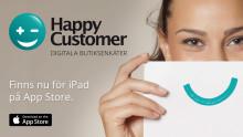 HappyCustomer - Kundundersökning finns för iPad på App Store och antalet nedladdningar av den prisvärda appen ökar.