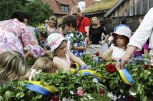 Midsommarfirande på Kulturen i Lund
