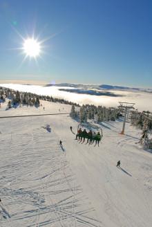 Nu snöar det för fullt i alpina Norge