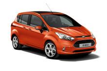 Fords nya B-MAX premiärvisas på bilmässan i Genève
