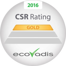 EcoVadis guld till Toyota Material Handling Sweden - ett kvitto på att vi prioriterar CSR och hållbarhet