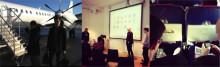 Idag har vi föreläst om UX, design och frontend-utveckling på Hyper Island