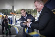 Statoil öppnar ny station med fokus på miljön i Arninge