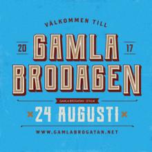 Välkommen till GamlaBrodagen nu på torsdag den 24 augusti!