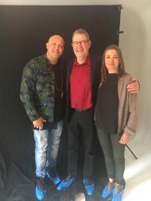 Umage par: René Dif skriver sang til Poul Nyrup og headspace