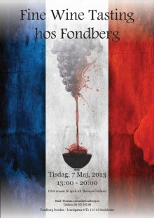 Fondberg French Wine Wine Day