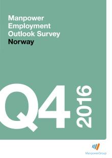 ManpowerGroups arbeidsmarkedsbarometer for fjerde kvartal 2016 - komplett rapport