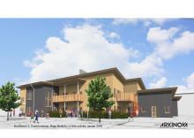 Nu startar bygget av nya Haga förskola