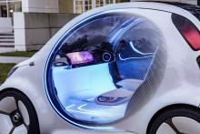 Selvkørende konceptbil viser fremtidens bildeling