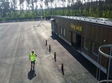 Återvinningscentralen i Dragmossen har öppet sista dagen den 22 juni