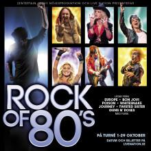 Rock of 80's till Saab Arena, Linköping