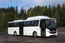 Scania fremviser ny regionalbus, der kører på gas