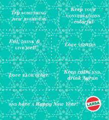 Nyårslöften från Larsa!