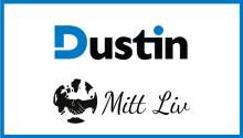 Dustin inleder samarbete med Mitt Liv