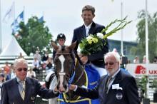 Söndagens segrare i Falsterbo Horse Show