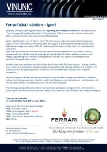 Ferrari bäst i världen – igen