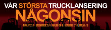 Truckvisning / Toyotas roadshow kommer till Stockholm / Kistamässan