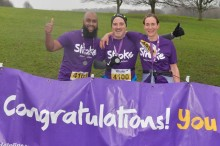 ​Manchester runners race to fundraising success for the Stroke Association