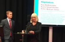 Karin Smed-Gerdin prisbelönad läromedelsförfattare