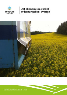 Det ekonomiska värdet av honungsbin i Sverige