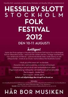 Hesselby slott Stockholm Folk Festival 2012