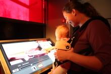 Babyomvisninger på Popsenteret