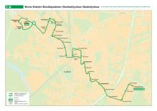 Stadsbuss linje 5 i Lund_tidtabell och linjesträckning t.o.m 150815