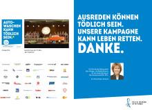 Diese Werbung kann Leben retten. Felix Burda Stiftung präsentiert Ergebnisse der Kampagne zum Darmkrebsmonat März 2016.