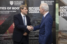 Northumbria welcomes Minister of State