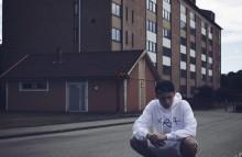 Rap-SM-vinnaren Zenar Abdulla från Kristianstad uppträdde på Malmöfestivalen