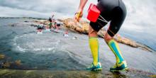 Träna swimrun-teknik på TanumStrand