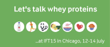 IFT 2015: Explore the healthy benefits of higher protein content