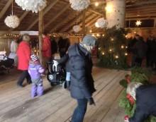 Julmarknad i Torphyttan