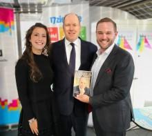 Das Stuttgarter Auktionshaus Eppli trifft Fürst Albert II. von Monaco zur 10. Hamburger Klimawoche