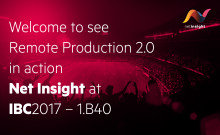 Net Insight, Calrec and Grass Valley bring Remote Production  to the next level