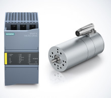 ebm-papst drivlösningar i Siemens nya produktfamilj Simatic Micro-Drive
