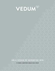 Hela Vedum på Nordbygg 2016!
