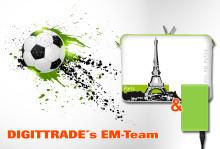 Anpfiff für DIGITTRADE's EM-Team