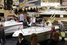 Thousands of summer dreams on show at the Stockholm International Boat Show, Allt för sjön