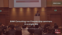 EAW Consulting run 3 leadership seminars in a single day
